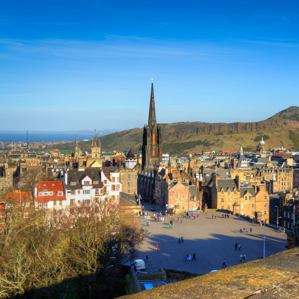 Favorite shot of a favorite city: Edinburgh